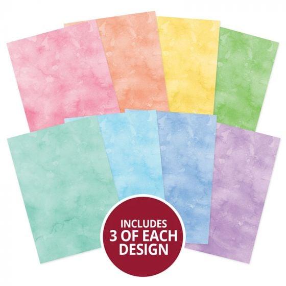 Adorable Scorable Pattern Pack - Watercolour Wash