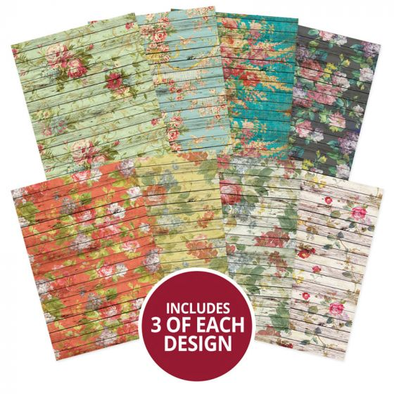 Adorable Scorable Pattern Pack - French Wood