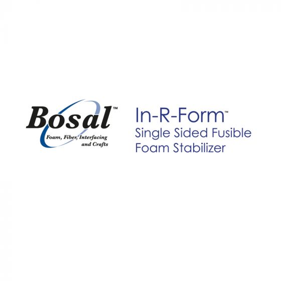 Bosal Single-Sided Fusible In-R-Form