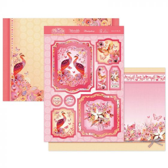 Love Is In The Air Luxury Topper Set