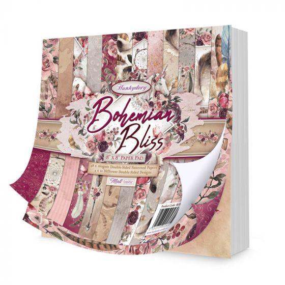 "Bohemian Bliss 8"" x 8"" Paper Pad"