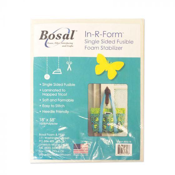 """Bosal In-R-Foam - Single Sided Fusible Foam Stabilizer 18"""" x 58"""""""