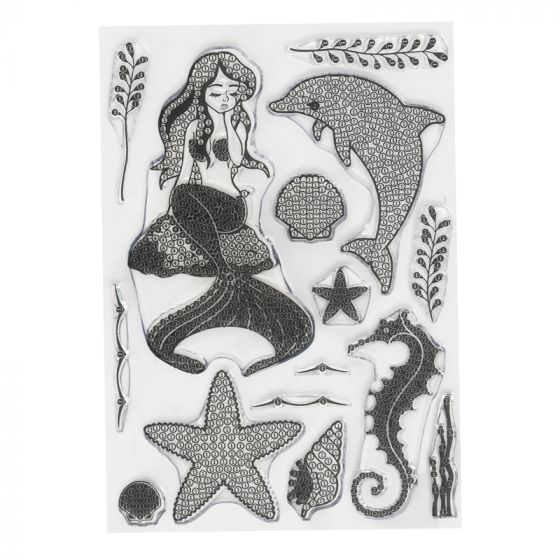 Crystal Art A5 Stamp - Under the Sea