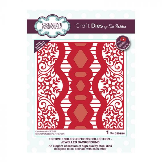 Creative Expressions Sue Wilson Endless Options Jewelled Background