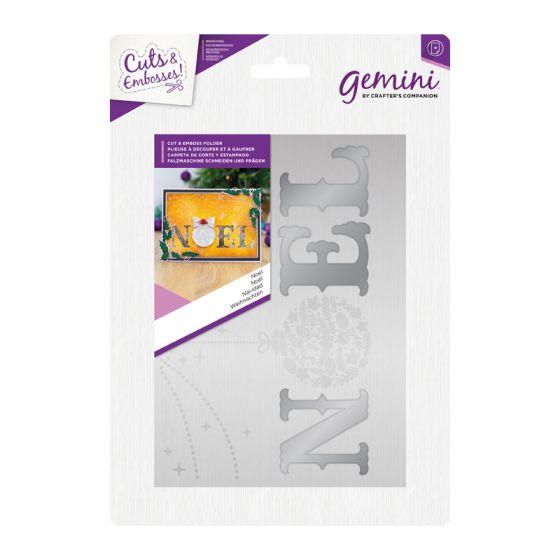 Cut and Emboss Folder - Noel