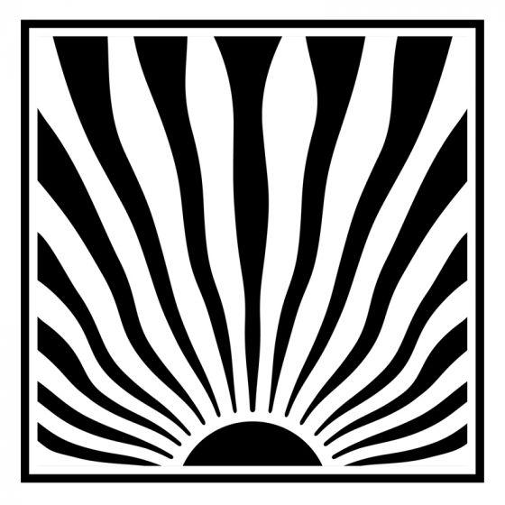 Ray of Sunshine 6 x 6 Stencil by Sue Wilson