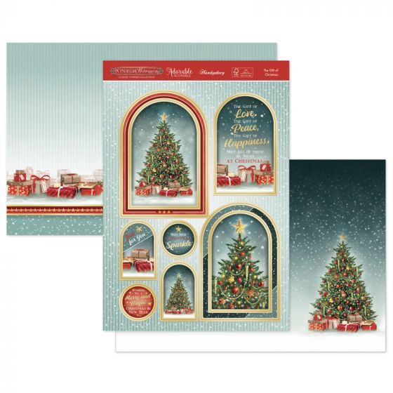 The Gift of Christmas Luxury Topper Set