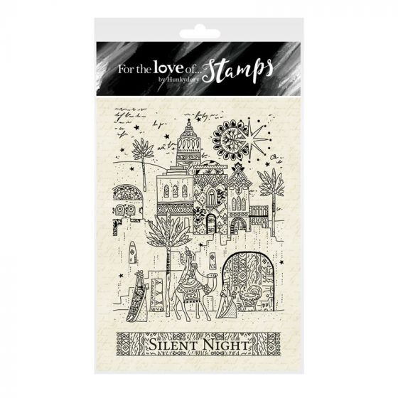 For the Love of Stamps A6 Stamp Set - Little Town of Bethlehem