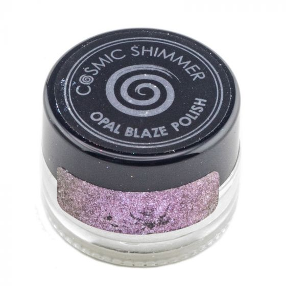 Cosmic Shimmer Opal Blaze Polish Pink Blueberry