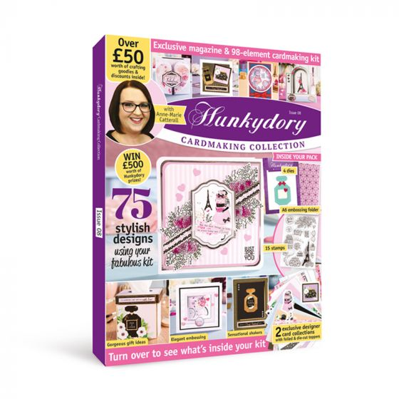 Hunkydory Design Collection Box Magazine Issue 8