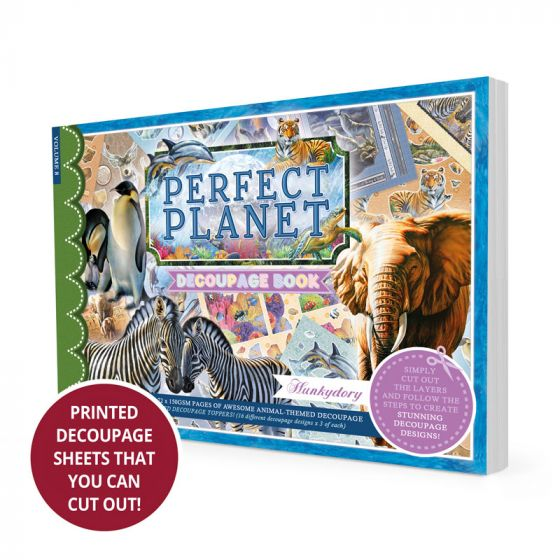 Perfect Planet Decoupage Book