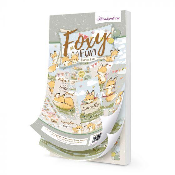 DL Paper Pad - Foxy Fun
