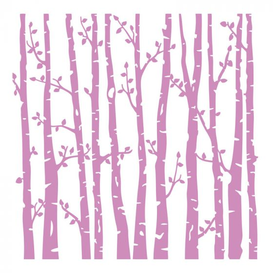 """Crafter's Companion - 6""""x 6"""" Embossing Folder - Spring Forest"""
