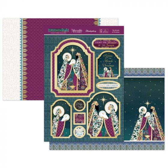 The Miracle of Christmas Luxury Topper Set
