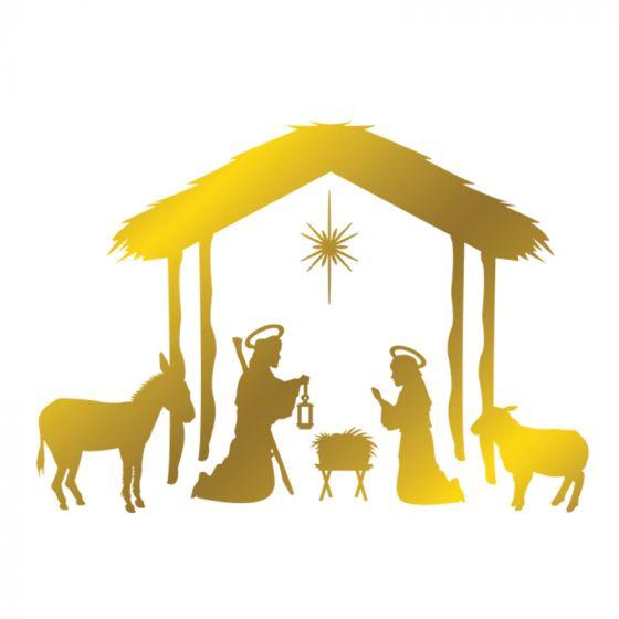 Gemini - Foil Stamp Die - Elements - Nativity Scene