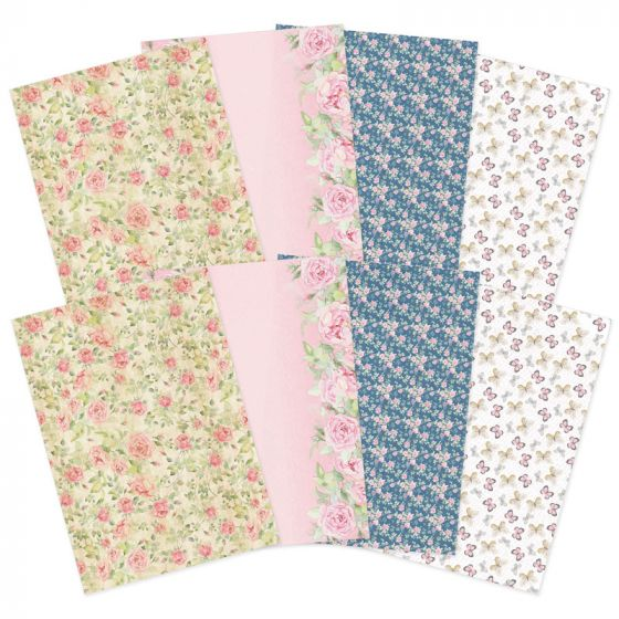 Forever Florals - Rose Printed Parchment