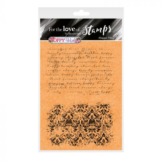 For the Love of Stamps - Elegant Tiles