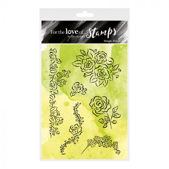 For the Love of Stamps - Simply Florals