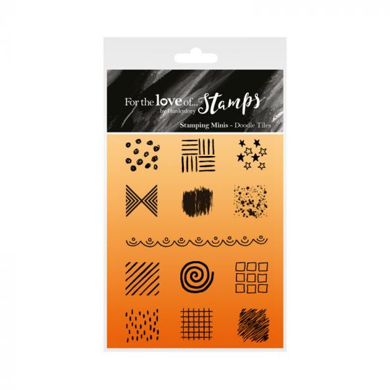 For the Love of Stamps - Doodle Tiles