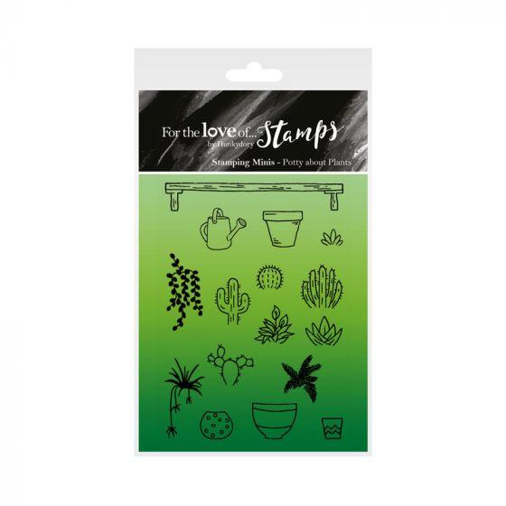 For the Love of Stamps - Potty About Plants