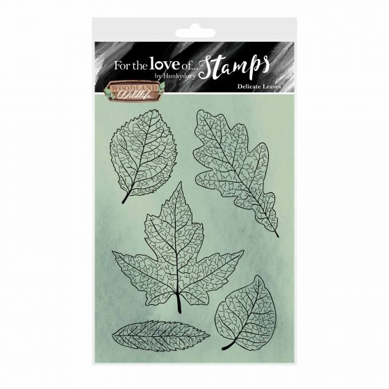 For the Love of Stamps - Delicate Leaves