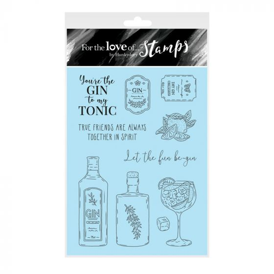 For the Love of Stamps - Gin-credible A6 Stamp Set