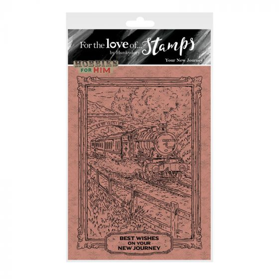 For the Love of Stamps - Your New Journey A6 Stamp Set