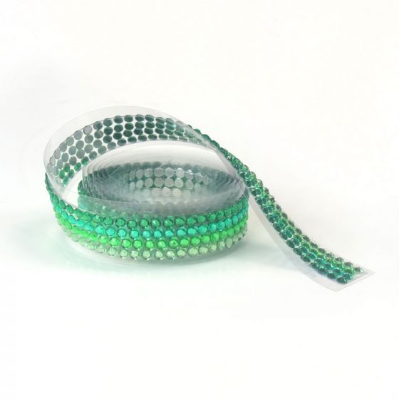 Diamond Sparkles Gemstone Rolls - Gorgeous Greens