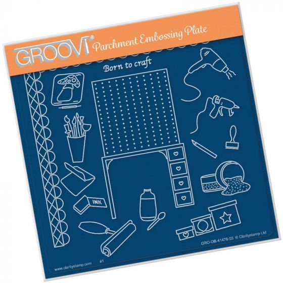 Hobbies - Crafting A5 Square Groovi Plate