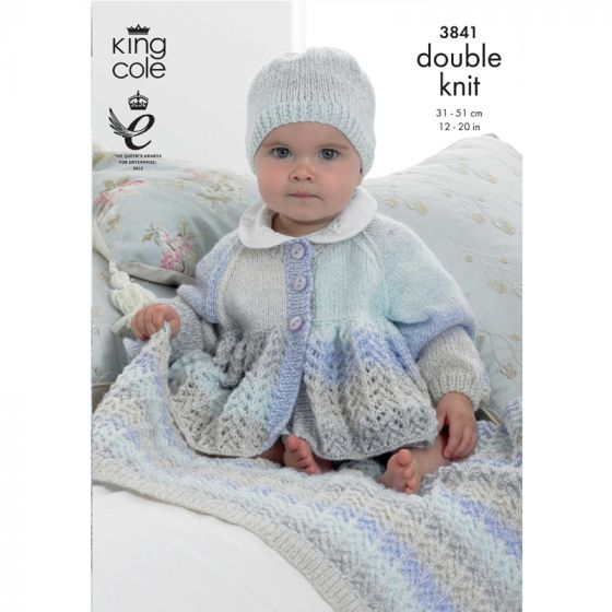 King Cole Pattern - Jacket & Blanket