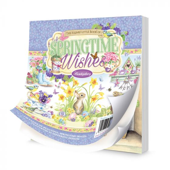The Square Little Book of Springtime Wishes