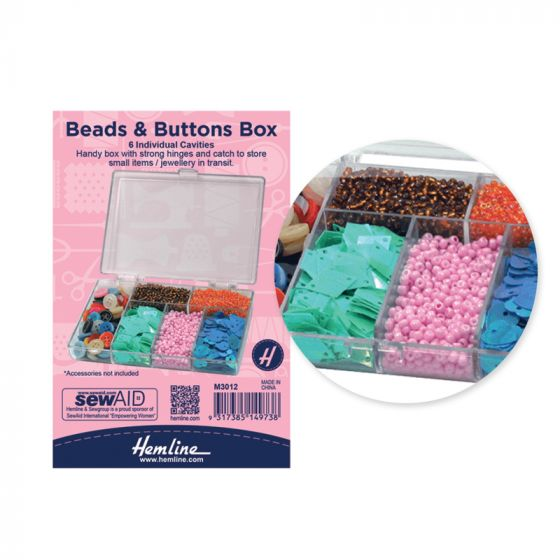 Beads & Buttons Box