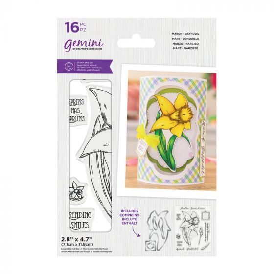 Gemini - Stamp & Die - March - Daffodil