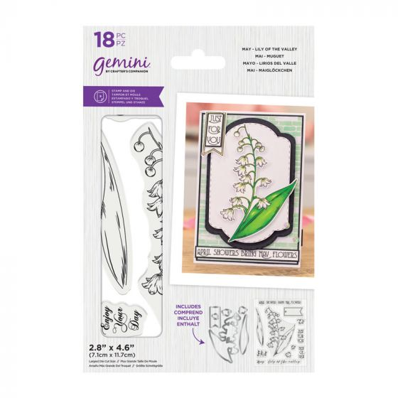 Gemini - Stamp & Die - May - Lily of the Valley