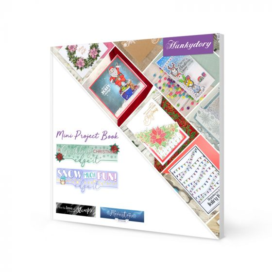 Mini Project Book - Christmas Edge It Dies & Stamps