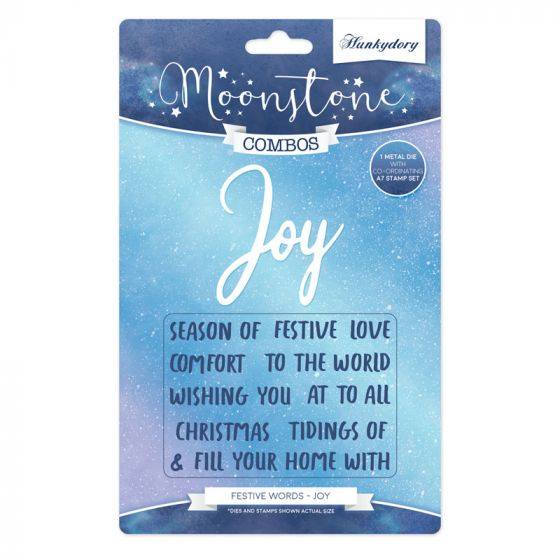 Moonstone Combos - Festive Words - Joy