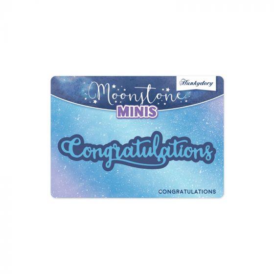 Moonstone Minis - Congratulations