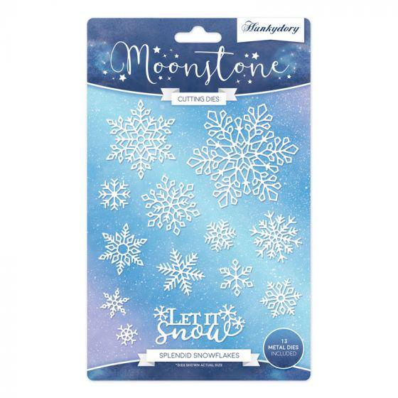 Moonstone Dies - Splendid Snowflakes