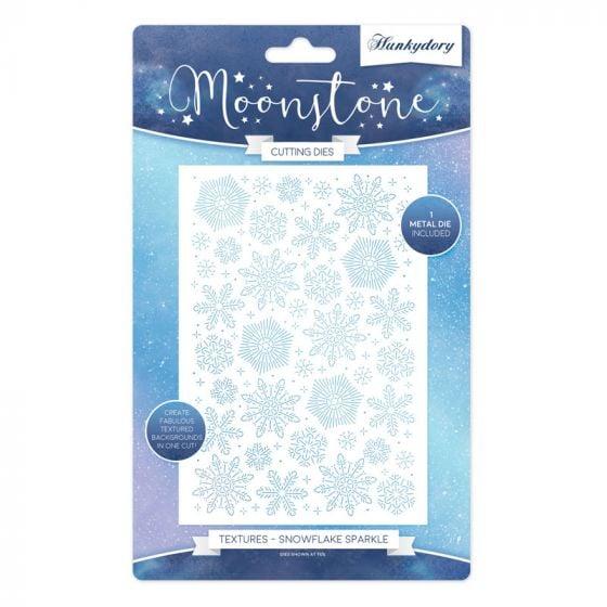 Moonstone Texture Dies - Snowflake Sparkle
