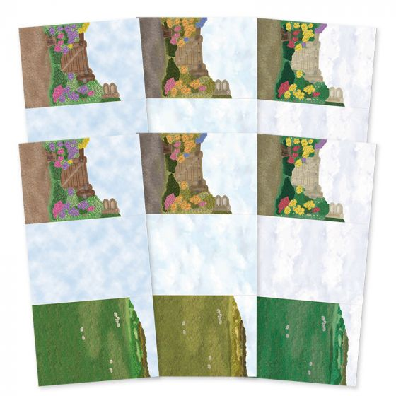 Rural Escapes - Set the Scene Z-Fold Card Blanks - Wild at Heart