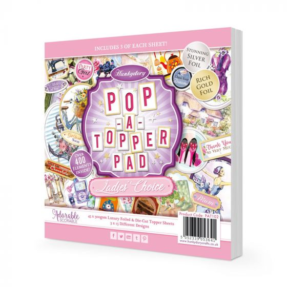 Pop-a-Topper Pad - Ladies Choice