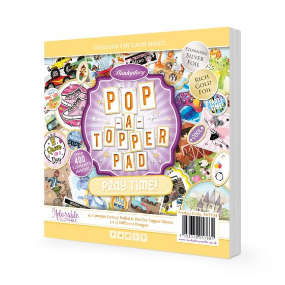 Pop-a-Topper Pad - Play Time