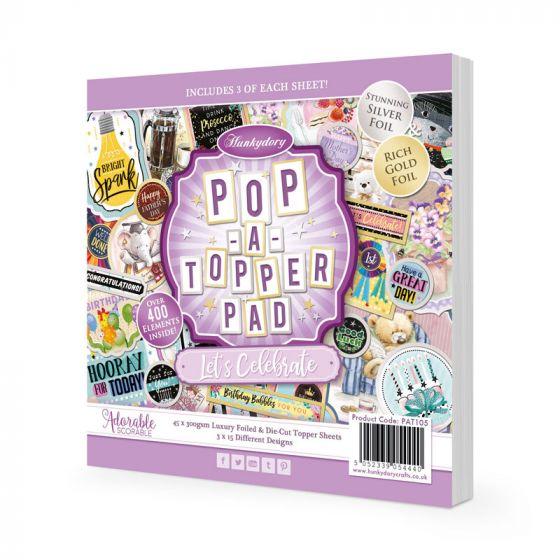 Pop-A-Topper Pad - Let's Celebrate