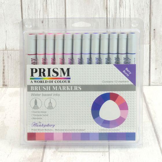 Prism Brush Markers - Berry Burst