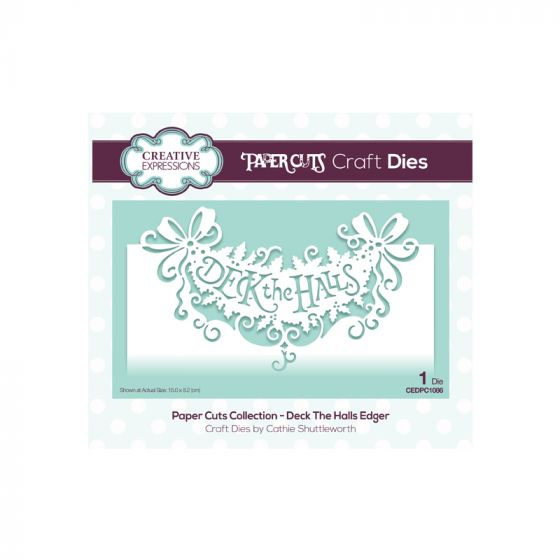 Paper Cuts Collection - Deck the Halls Edger