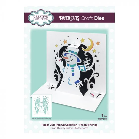 Paper Cuts Pop Up Collection - Frosty Friends Craft Die