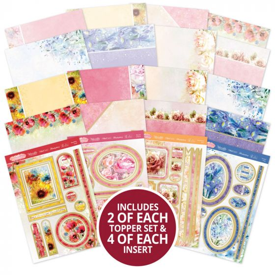 Paintdrop Florals Luxury Card Collection