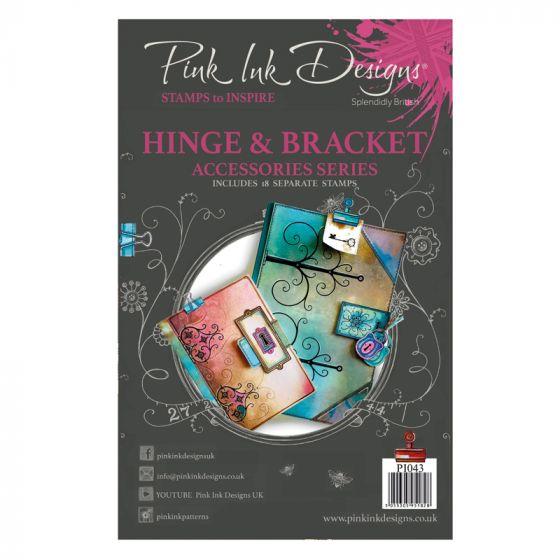 Pink Ink Designs A5 Clear Stamp - Hinge & Bracket