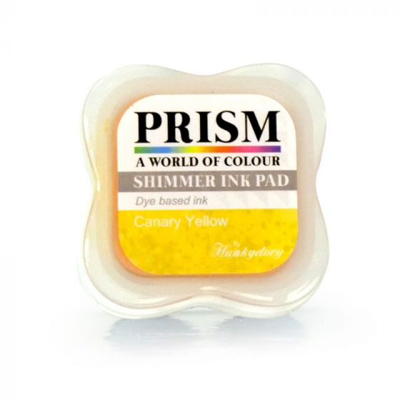 Shimmer Prism Ink Pads - Canary Yellow