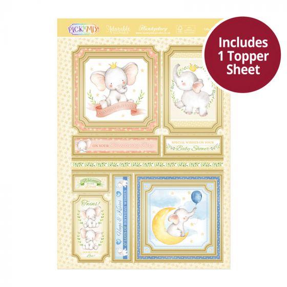 Pick 'N' Mix Topper Sheet - Little Effalumps